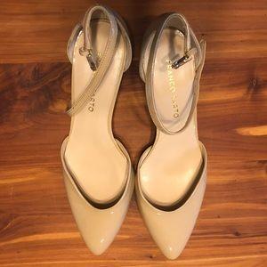 Short nude heels